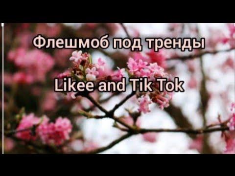 😍 Флешмоб под тренды 😍 Likee and Tik Tok 😍