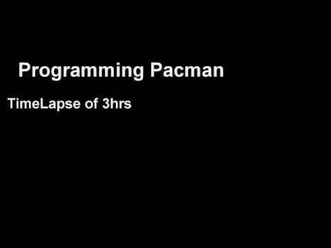 Programming Pacman - Time Lapse