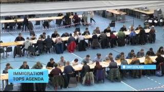 Swiss Parliamentary Election: Anti immigration SVP expected to top poll