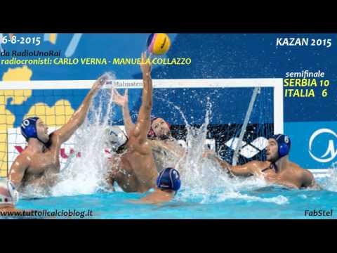 Kazan 2015 alla radio: Serbia-Italia 10-6