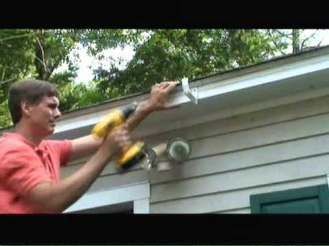 How to Install Gutters Video