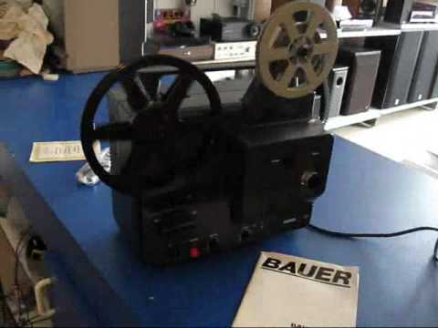 BAUER T 170 SINGLESUPER 8 MOVIE SOUND PROJECTOR