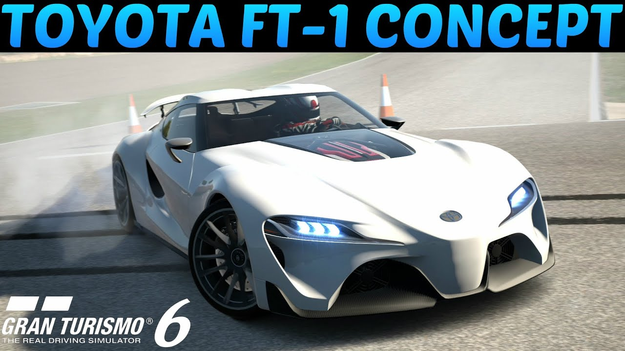 Gt6 Toyota Ft 1 Concept New Supra Test Drive Review