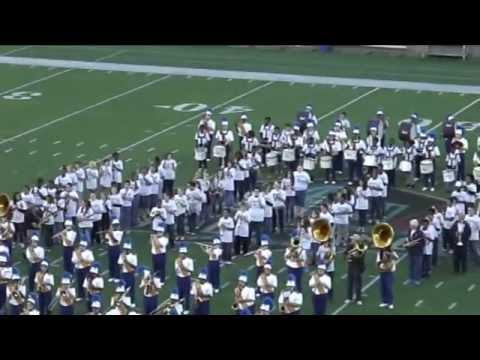 Timken High School Marching Band Home Coming Game PreGame 2014