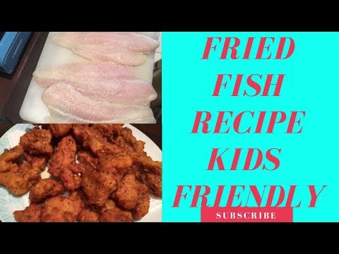 FRIED FISH RECIPE FOR KIDS | PAKISTANI MOM | FARYAL HASSAN