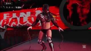 Finn Balor vs Roman Reigns WWE Championship Match - WWE 2K16