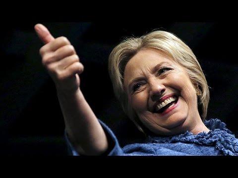 Beyaz Saray yolunda Clinton'dan büyük adım