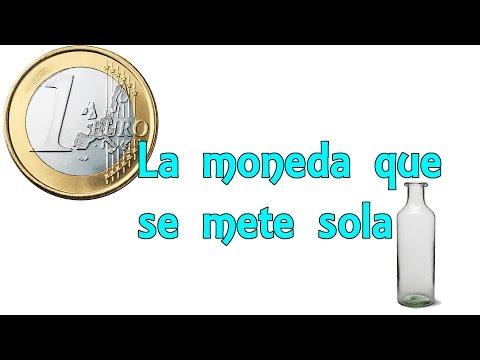 La Moneda Que Se Mete Sola (Experimentos Caseros Para Niños)