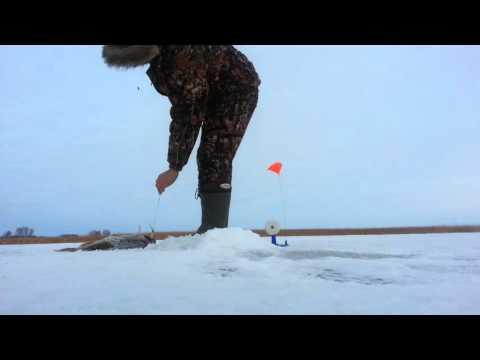 Рыбалка на жерлицы, Сергеевское водохранилище
