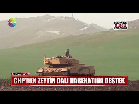 CHP'den Zeytin Dalı Harekatına destek
