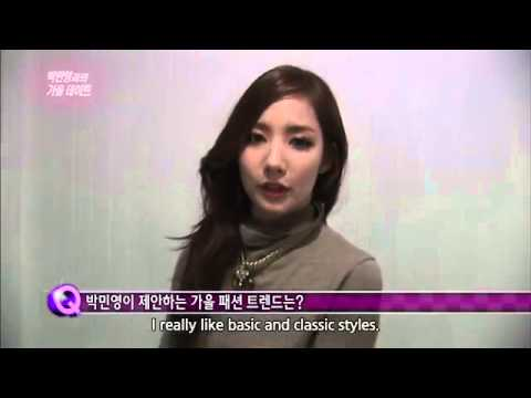 130914 Entertainment Weekly with Park Min Young (Eng Sub)
