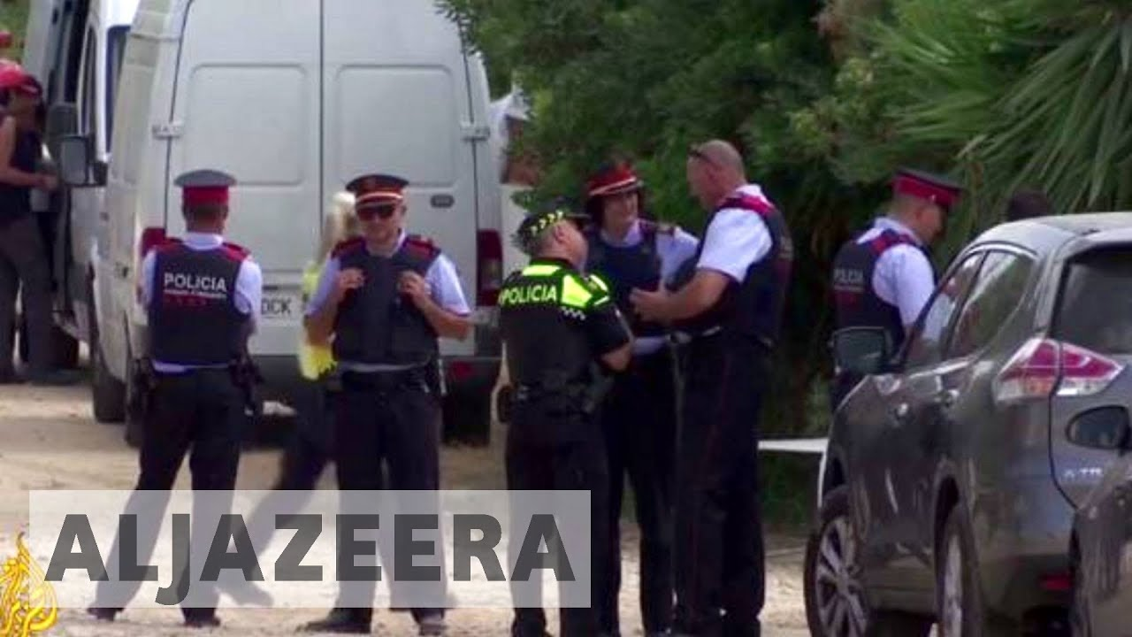 Spanish police hunt for last remaining suspect linked to attacks