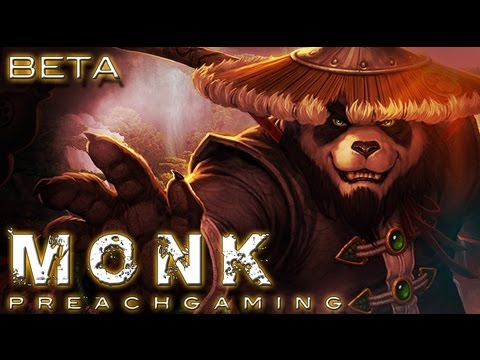 Windwalker Monk Gameplay Mists of Pandaria Beta