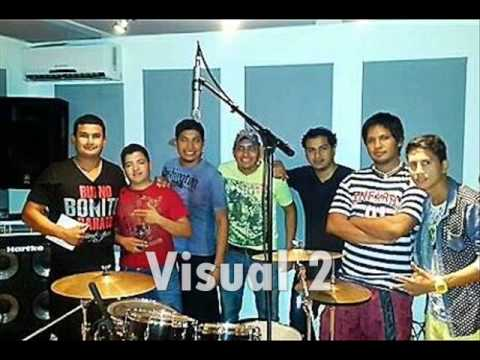 Cumbia Actual - dejame  visual 2 en vivo cover diego rios