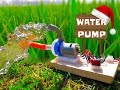 How To Make Powerful Water Pump   Wonderful  Home Made Pump