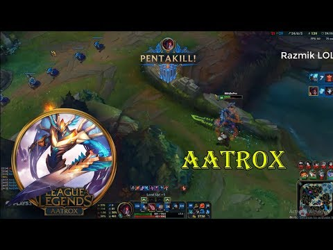 Aatrox Montage - Best Aatrox Plays Compilation - Aatrox Top Guide[Razmik LOL]