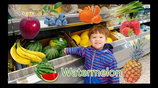 Kids Learning Names of Fruits and Vegetables | Preschool Learning | English Educational Video