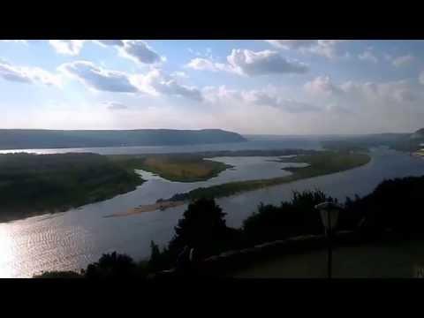 Река Волга.Жигулёвские горы.Самара.