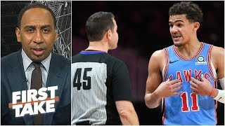 Trae Young's ejection was an excessive move by the NBA – Stephen A. | First Take