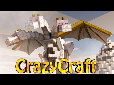 Minecraft | Crazy Craft 2.0 - OreSpawn Modded Survival Ep 195 -