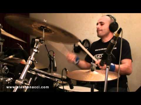 Alex Bonacci - All the Mornings of the World drums recording session preview