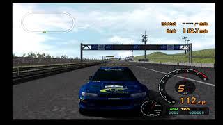 Gran Turismo 3 Playthorugh Part 86.5! MAX SPEED IMPREZA RALLY CAR!