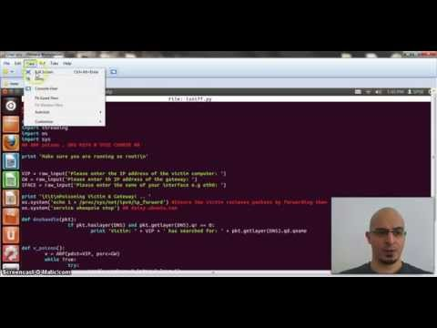 Python ARP MITM demo