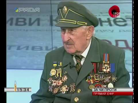 "Олександр Марченко та Теодор Дячун у програмі ""За чи Проти"""