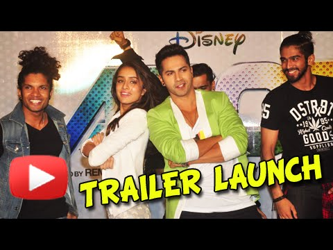 (Video) ABCD 2 Trailer Launch Event | Shraddha Kapoor, Varun Dhawan