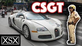 Phản Ứng Của CSGT Khi Thấy Bugatti Veyron 50 Tỷ Của Cafe Trung Nguyên Náo Loạn Đường Phố | XSX