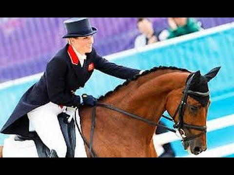 ZARA PHILLIPS-THE BEST EVENTER EVER:LONDON 2012!