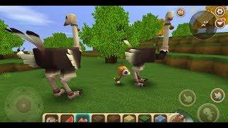 《迷你世界》馴服鴕鳥與繁殖生出小鴕鳥及騎乘教學! [Mini World: Block Art]