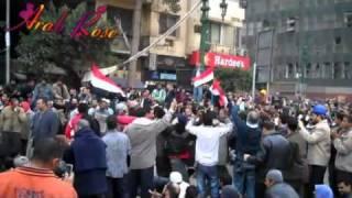 كلمة حلوة وكلمتين حلوه يا بلدي مصر تغني ثورة 25 يناير