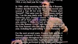 Watch Frankie Valli Silence Is Golden video