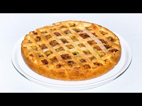 Грибной пирог. Рецепт