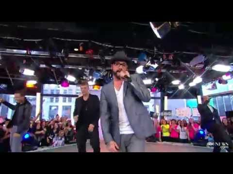 2013-05-15 - Backstreet Boys on GMA