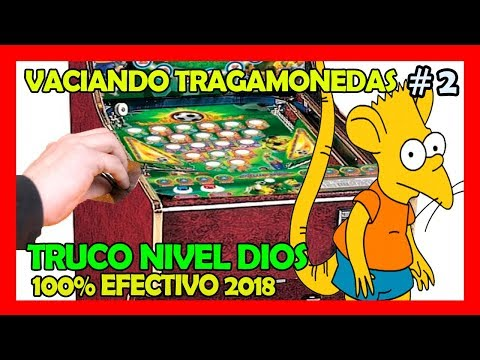 Truco Para Maquinas Tragamonedas Pinball (2) 100% Efectivo!!