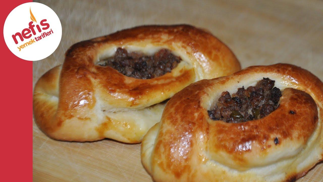 Karnıyarık Poğaça Tarifi - Nefis Yemek Tarifleri - YouTube