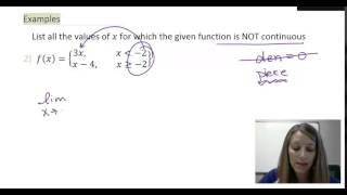 5: Finding where a Function is Discontinuous