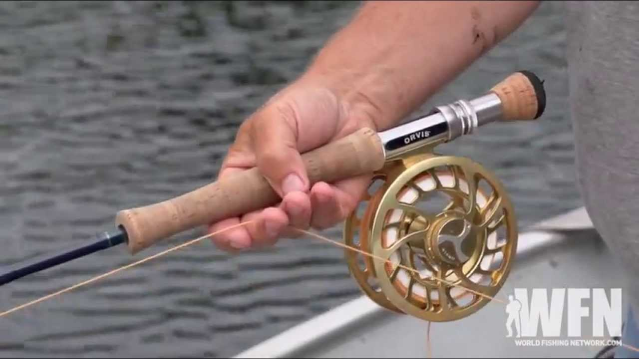 How To Catch A Bass While Fly Fishing - YouTube