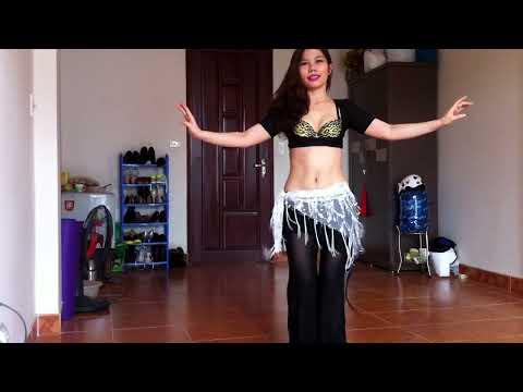 Hướng dẫn học múa bụng cơ bản (bellydance basic )- shimmy hông