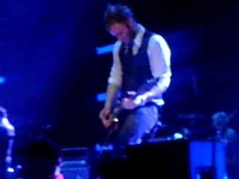 Ben Kasica playing at Creationwest 2008 (Skillet)