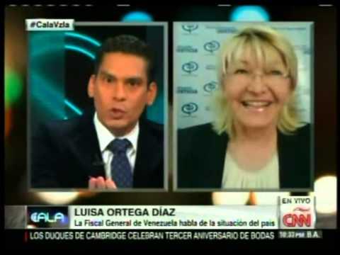 Cala descarga y calla a la fiscal Luisa Ortega Díaz