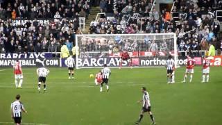 Newcastle vs Arsenal - 4-4 - Amazing atmosphere!!