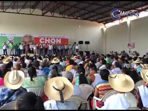 Chon Orihuela cerró semana en su tierra Zitácuaro