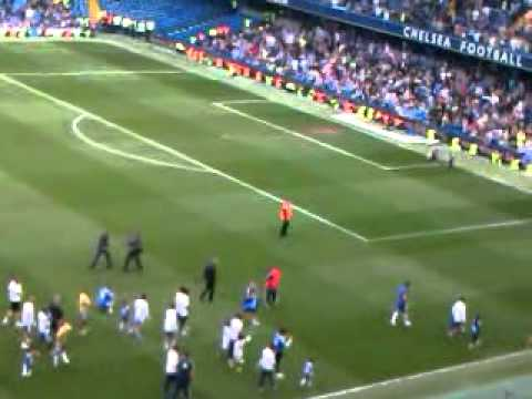 Chelsea Lap of Honour 2011 & Branislav Ivanovic Jnr scores for Chelsea!