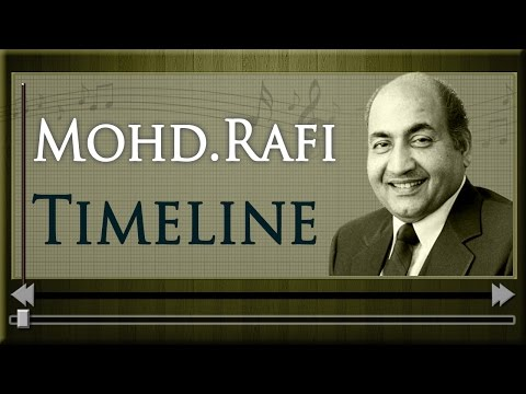 Mohammad Rafi Timeline - Jukebox -  Evergreen Old Songs of Mohd...