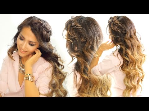 2 Headband Braid Hairstyles ★ Quick & Easy Everyday Hairstyle