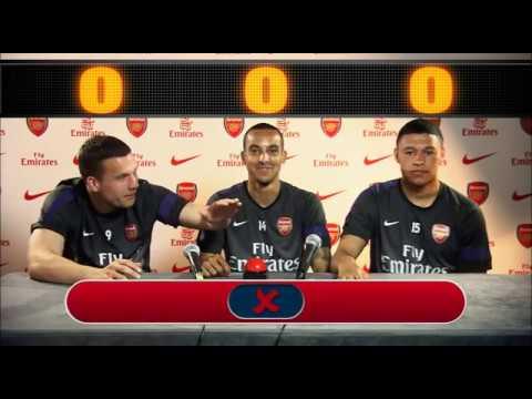 Arsenal Asia Tour Quiz