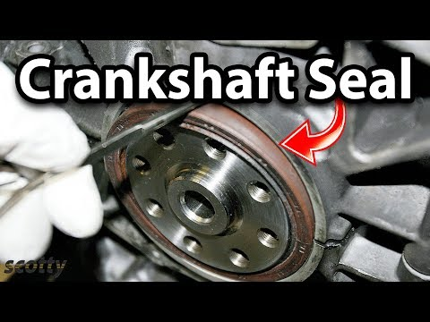 Fixing An Oil Leaking Crankshaft Seal